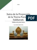 Sutra de la Proyección de la Tierra Pura de Sukhavati