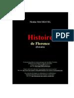 Maquiavel - Histoire de Florença