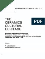 Ceramics Cultural Heitage