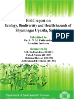 Field report on