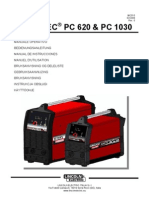 Lincoln-Electric Welding Inverter PC620&PC1030