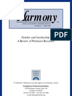 Gender Leadership - Review