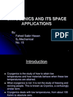 Cryogenics and Its Space Applications