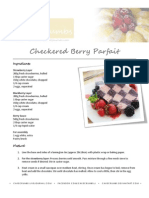 Checkered Berry Parfait