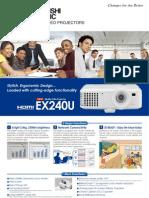 Brochure Ex240u