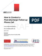 5. How to Conduct a Post-Discharge Follow-Up Phone Call 4.15.11