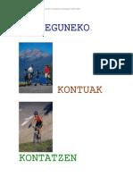 Unitate Didaktikoa - Eguneko Gertaerak Kontatzen