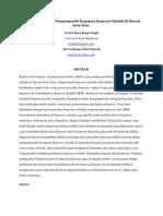 K) Faktor-Faktor Yang Mempengaruhi Kemajuan Koperasi