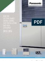 Catalog sisteme Panasonic VRF 2013