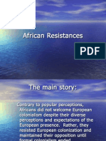 African Resistances