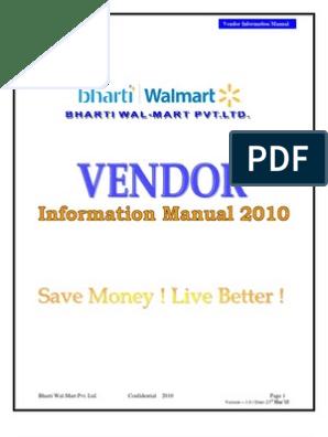 Wal-Mart Supplier Module   Electronic Data Interchange   Retail