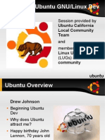 Ubuntu overview for developer
