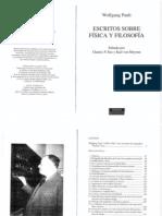 Pauli, Wolfgang - Escritos Sobre Fisica y Filosofia