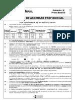 Prova Certificação Interna BB 2008 Branca