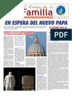 EL AMIGO DE LA FAMILIA - Domingo 10 marzo 2013