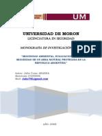 Evaluacion de la Seguridad de un Sitio Ramsar en la Argentina