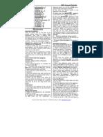 Manual Telecomanda Vivanco Ur81