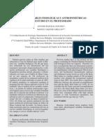 BURNOUT VARIABLES FISIOLÓGICAS Y ANTROPOMÉTRICAS