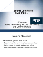 Social Networking, MCommerce & Online Auctions