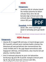 HDN, hemorragic disease of newborn