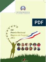 VIII Premios Mujeres de Progreso 2013