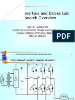 Power Converters and Drives Lab
