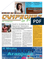 CAMPEONES de Aranjuez nº52 08-mar-13