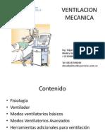 Modalidades en ventilación Mecánica