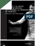 12-Agudelo y El Oficio de Actor Gestual