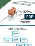 BIAYA MODAL 2