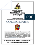 College Fair Flyer 3 2013