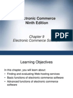 9. Electronic Commerce Software