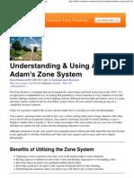 Understanding & Using Ansel Adam's Zone System.pdf