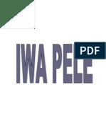 IWA PELE