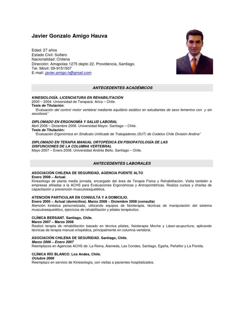 Magnífico Currículum Vitae De Pilates Inspiración - Ejemplo De ...