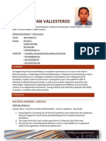 Mark Tristan Vallesteros CV