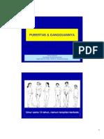 Pubertas Dan Gangguannya - Dr Rudy Susanto