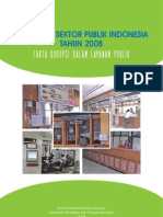 KPK Report Integritas 2008 Indonesia