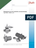 Reguladordenivelmodulante TipoPMFL PMFHySV RD2CB405