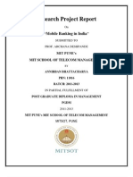 Mobile Banking in India