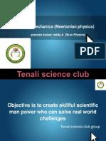 Classical Mechanics (part 1)