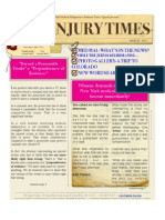 NY Injury Times- New Newsletter! March 2013