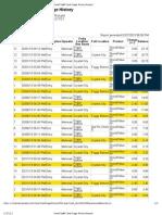 Rickert SmarTrip® Card Usage History Report