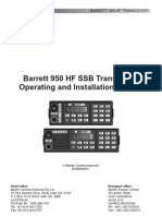 Barett 950 Operating Manual