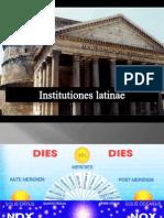 Instituciones Latinas