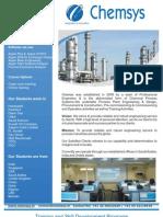 Chemsys Training Program Introduction