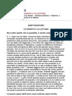 Sant'Agostino - Lo Spirito e La Lettera (ITA)