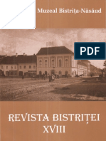 Revista Bistritei XVIII 2004