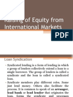 Raising of Equity From International Markets (Module 4 Mine) (1)