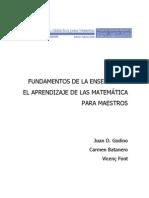 Godino - Matematicas